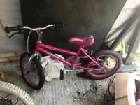 3x kids bikes