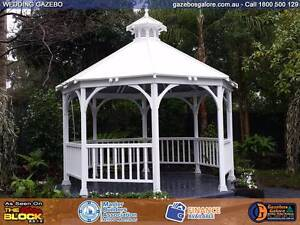 Gazebos Delivered and Installed from $4250 Albury Albury Area Preview