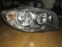 BMW 1 Series E87/E81/E82 OS DRIVERS Side Facelift Halogen Lci Headlight