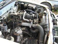 ranger 2.5td complete engine in pickup
