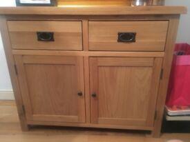Stylish wooden dresser