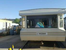 Willerby caravan for project