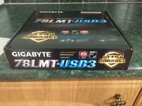 Motherboard bundle with 12gb ram and cpu