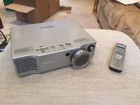 Panasonic PT-AE900E HD Projector with remote control