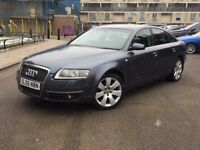AUDI A6 SE AUTOMATIC TDI QUATTRO 3.0 diesel, black leather interior, full service history, 128k only