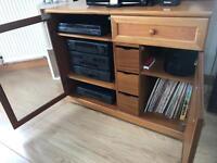 Music centre cabinet