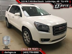 Used 2015 GMC Acadia AWD SLT1-Heated Leather,7 Passenger,Fully M