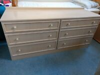 G-Plan Bedroom Chest of Drawers and Bedside Table