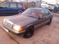 LHD mercedes 190 diesel , we have more left hand drive ---15 cheap cars