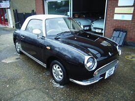 NISSAN FIGARO In Balck with 43000 miles