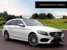 Mercedes-Benz C Class C250 D AMG LINE PREMIUM PLUS (white) 2016-02-13