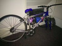 bike aluminium frame size 17 inches for parts