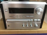 Yamaha Bookshelf CD Receiver Amplifier FM Tuner