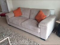 3 and2 seater sofas