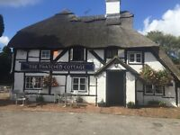 Chef/ Kitchen Manager urgently required for traditional Farnborough pub