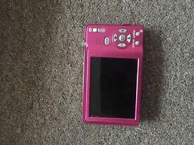Panasonic LUMIX digital camera (pink/rose)