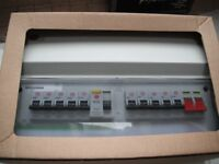 Fuse Box Consumer Unit with 10 MCBs, Wylex, Coventry