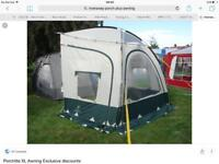 XL PORCHLITE AWNING in blue