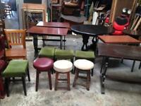Pub bar man cave stools