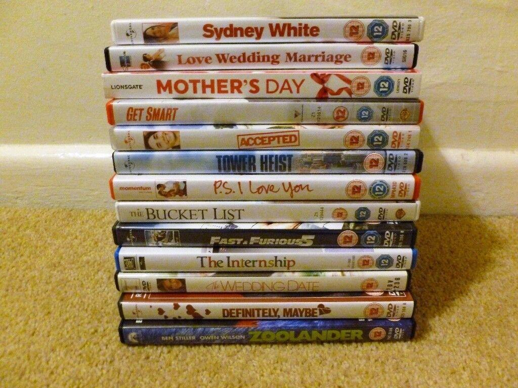 Bundle of Various DVD's +1 Box Set