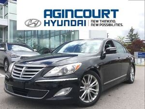 2012 Hyundai Genesis 3.8 Tech/NAVI/SUNROOF/OFF LEASE/ONLY 56222K