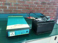 1000w. Inverter, 12v dc to mains 230v quality invertek inverter. Sine wave, laptop safe. N.Dorset