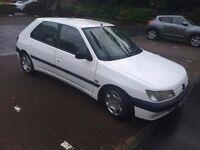 1996 Peugeot 306 XRDT Phase 1 White 1.9 XUD engine
