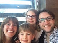 Warm, welcoming family of four looking for nanny in village near Cambridge
