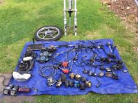Job lot of motorbike spares