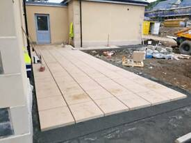 ALL ASPECTS OF GROUNDWORKS, DRIVEWAYS, FOOTPATHS, FENCES, ALSO ROUGHCASTING AND BUILDING EXTENCIONS