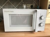 Microwave as new.