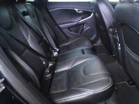 VOLVO V40 D2 R DESIGN Lux 5dr Powershift Auto (black) 2014