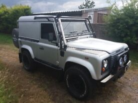 defender 90 td5 low miles and good condition all round