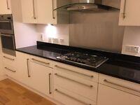 Matt white kitchen units for sale