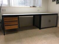 Magpie studio furniture desk and cupboard