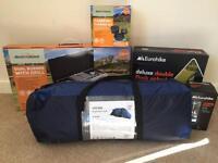 Brand new camping equipment