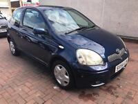 2004 TOYOTA YARIS 3DOOR  HATCHBACK MANUAL 1.L PETROL