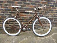 Create single speed free wheel/fixed bicycle
