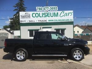 2014 Dodge Ram 1500 SPORT, LEATHER,LOADED, 4X4, ONLY 50KM