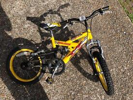 Perfect bike for 5-9 year olds