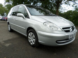 2007 Citroen C8 SX 2.0 HDi ONLY 58000 MILES 7 seater 1 owner from new FSH MOT to 28.2.19