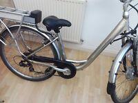 Electric bike 200 pounds free helmate , lights