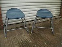 Childs Chair/Stool (pair)