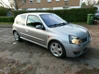 Renault Clio sport 172 2002 Silver
