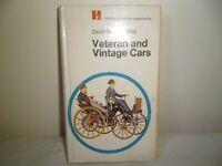 VETERAN & VINTAGE CARS BOOK BY HAMLYN BOOKS 1970