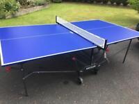 Ketler indoor/outdoor table tennis