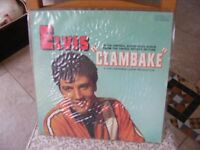 Elvis lp. Clambake.