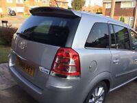 Vauxhall zafira 1.9 tdi. 150bhp. Elite.6 speed manual. Top spec. Full leather