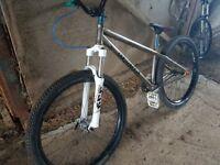 Commencal park/dirt jump bike
