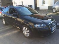 AUDI A3 1.9 TDI E 2008 3 DOOR DIESEL NEW TIMING BELT +WATER PUMP +SERVICE, FULL HISTORY CLEAN CAR